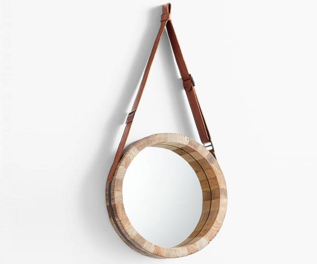 Round Wooden Mirror What Is Trend