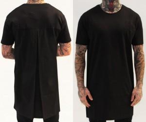 WIT229-Camiseta-larga-con-pliege-detras